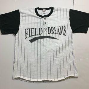 Field of dreams baseball tee size men's large